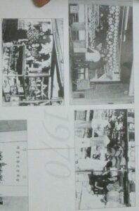 """1970年頃のリベルダーデ地区での韓国人の商店(""""45 anos de imigração Coréia Brasil""""より)"""