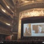 昨年開催したテアトロムニシパルでの祝賀会の映像