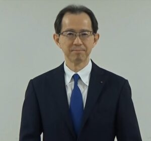 動画で挨拶を送った内堀雅雄福島県知事