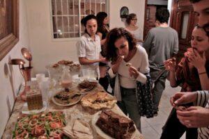 時間はゆっくりのシリア人主催のブラジル人のパーティー