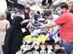 公共の場には男性の方が多いシリア