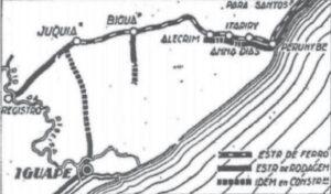 当時の海岸地帯の地図