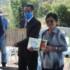 左から村上さん、白浜さん、妻・輝子さん