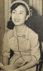 美空ひばり(朝日新聞社『アサヒグラフ』 1953年4月29日号, Public domain, via Wikimedia Commons)