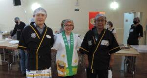 3県人会会長(左から長屋さん、磯さん、下川さん)
