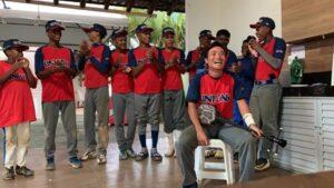 サルバドール市で少年野球指導をやっていた頃の高江さん