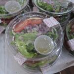 パエリア弁当のサラダ2