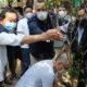 東洋街でも「世界清掃の日」=アルメイダJR広場を清掃=「清潔感あれば犯罪起きない」