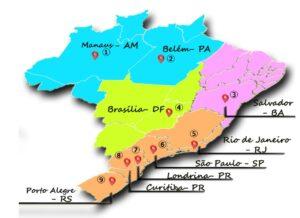 試験開催地区