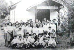 1963年にモジに移住した台湾人6家族が最初に建てた長老派教会