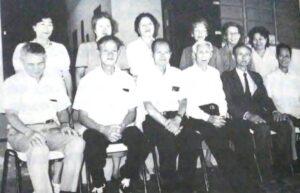 1963年にモジダスクルーゼスに移民した台湾人六家族の一部