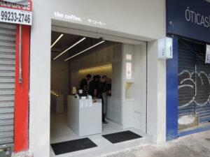 「ザ・コーヒー」リベルダーデ店
